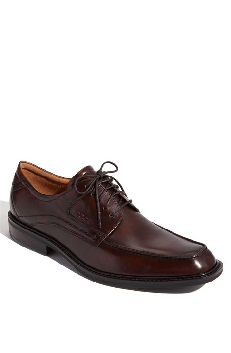 ecco shoes oxford ecco oxford in brown for lyst