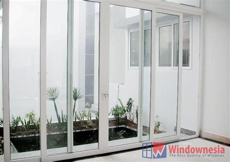pintu sliding upvc windownesia jual jendela aluminium