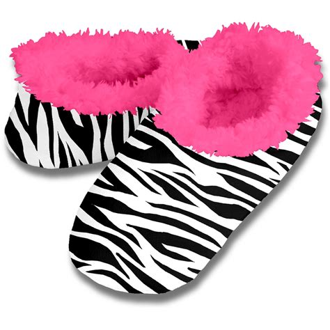 zebra house shoes snoozies animal skins slippers hot zebra