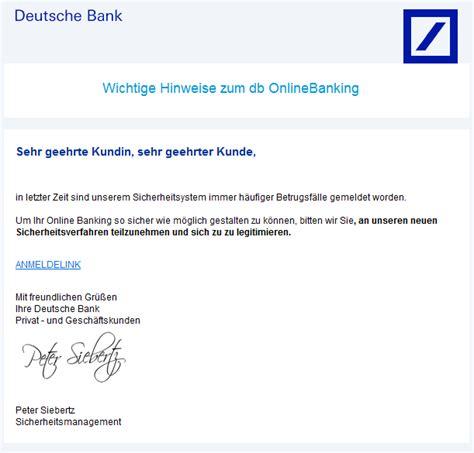 mail deutsche bank phishing mail alerts juni 2014