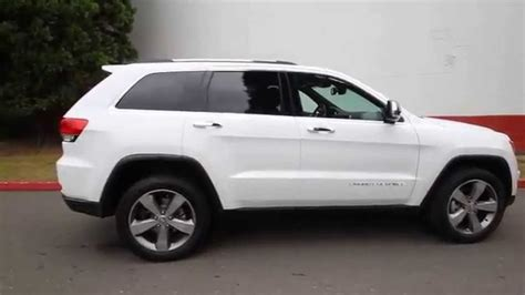 white jeep grand cherokee 2015 jeep grand cherokee limited bright white clearcoat