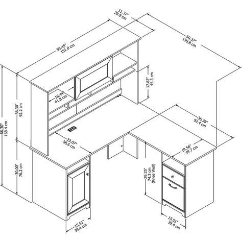 bush cabot l shaped desk bush furniture cabot l shaped desk with hutch in