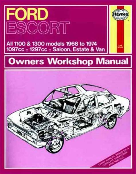 auto manual repair 1984 ford escort engine control ford escort mki 1100 1300 1968 1974 haynes service repair manual sagin workshop car manuals