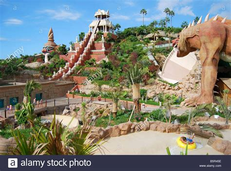 theme park tenerife tower of power ride siam park water kingdom theme park