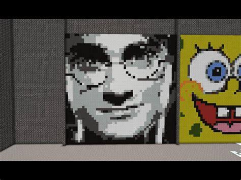 minecraft pixel harry potter