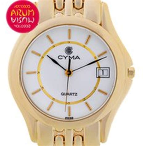 cyma yellow gold watches buy at best prices on chrono24