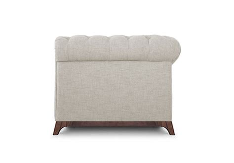 chester field sofa buy maya chester field 1 seater sofa ediy in