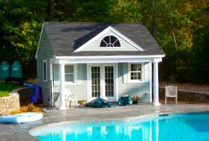 Building A Pool House by Custom Pool House Design Plans Ideas Amp Pictures
