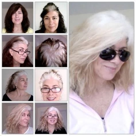 images of grey hair in transisition 17 best images about grey hair transition inspiration on