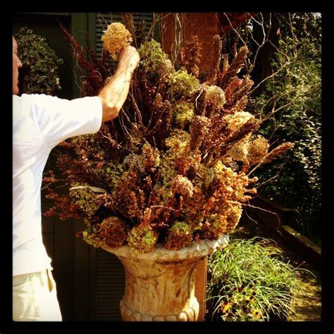 dried flower fall arrangement dried flowers pinterest