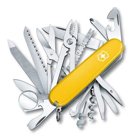 St 2pc Army Green Yellow swissch yellow swiss army knife