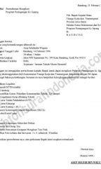 contoh surat bahasa indonesia lengkap referensi surat anda