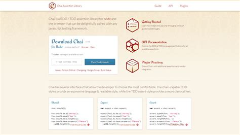 javascript pattern tester the full list of testing frameworks for javascript 47 items