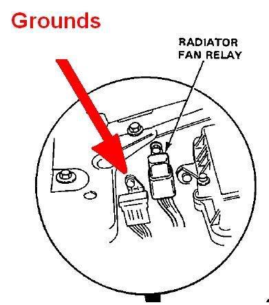 1991 honda civic cooling fan wiring wiring diagram manual
