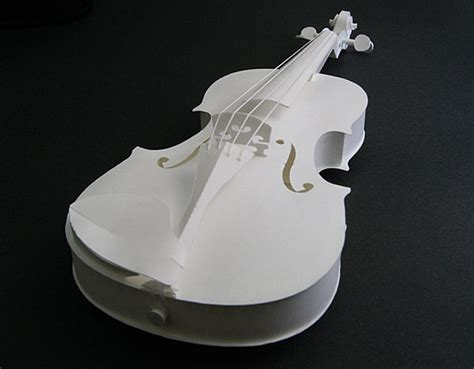 Violin Papercraft - at n nagasaka ltd rakuten global market violin