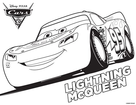coloring pages for lightning mcqueen to print free cars 3 printable coloring pages activity sheets