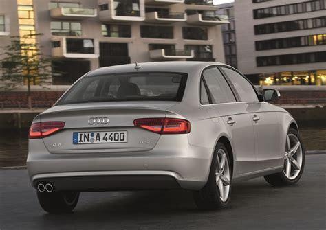 2012 Audi A4 Sedan by 2012 Audi A4 Sedan Cuvee Silver Rear View Eurocar News