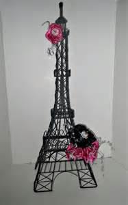 unique parisian sweet 16 centerpiece eiffel tower