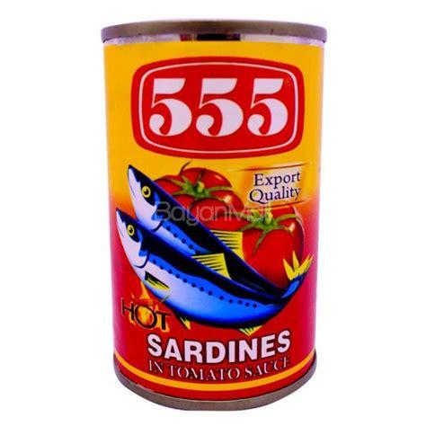 pronas sardines chili sauce 155g 555 sardines tomato sauce chili 155g