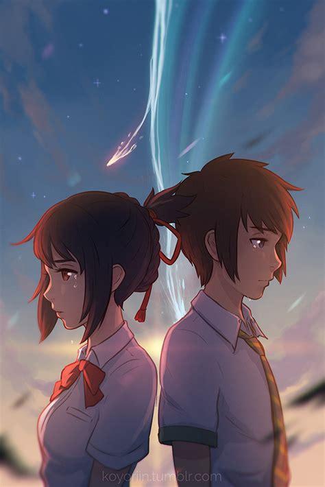 anime kimi no na wa kimi no na wa by koyorin on deviantart