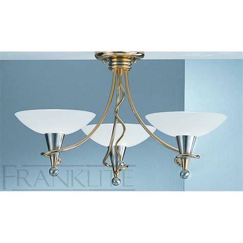 franklite pe7013 asti italian gold semi flush ceiling