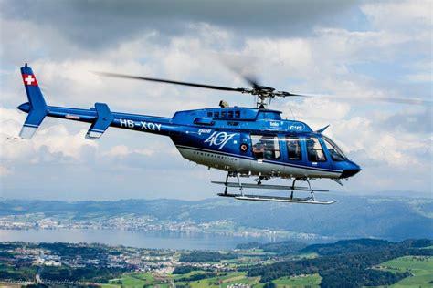 hubschrauberflug hubschrauber bell 407