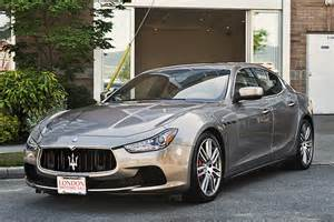 Maserati Sedan 2014 Maserati 2014 Ghibli S Q4 4 Door Awd Sedan
