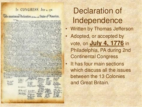 thomas jefferson declaration of independence declaration of independence