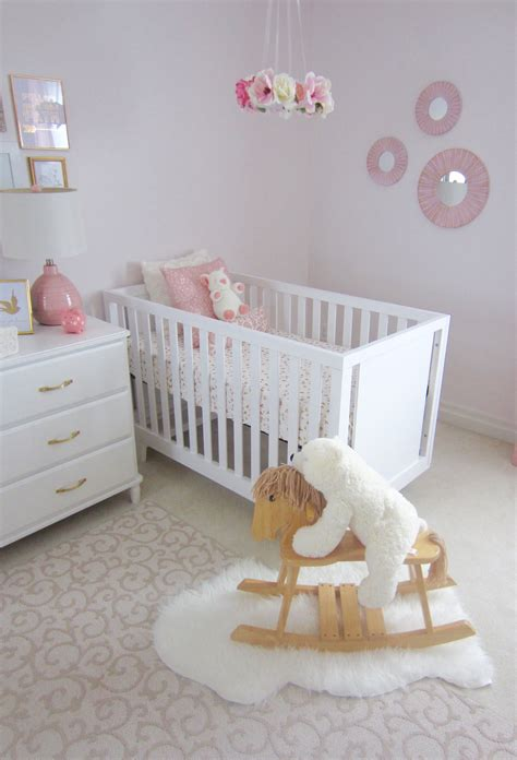 pink and white nursery pink white and gold twin nursery project nursery
