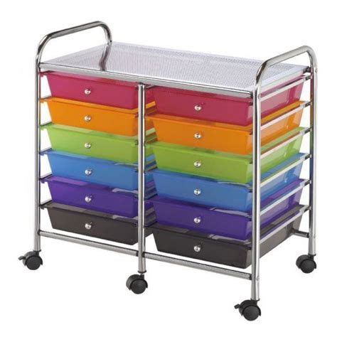 Mobile Storage Drawers Buy Mobile Storage Cart 12 Drawer Multi Os1