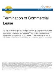 Commercial Lease Termination Letter by Early Termination Letter To Landlord Sle Math