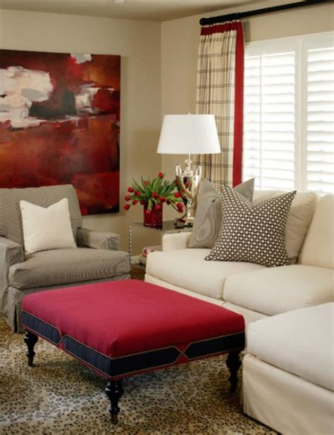 red living room how to work with red to create vibrant and elegant decors