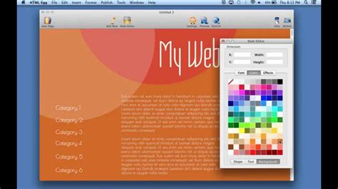 how to change your web page background color using html