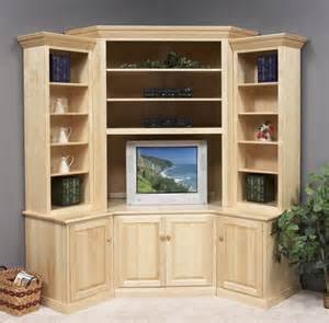 large corner wall unit clear creek amish furniture