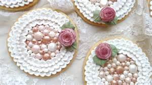 how to decorate cookies how to decorate cookies with royal icing pearls and brush