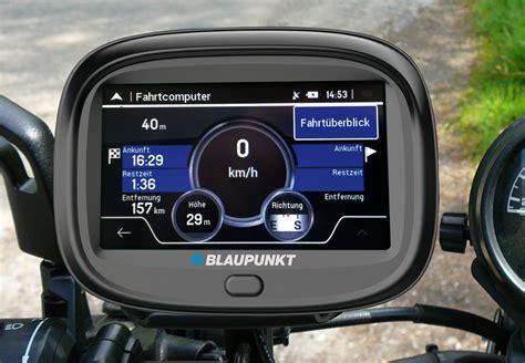 Blaupunkt Motopilot Motorrad Navigation 8 8 Cm 3 5 Zoll by Blaupunkt Motopilot 43 Neues Navi Speziell F 252 R Biker