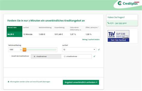 creditplus bank kredit creditplus bank sofortkredit mit top zins minikredit