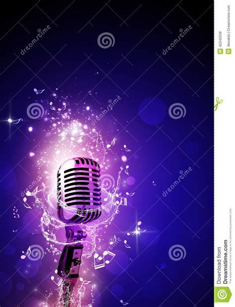 party music party music background stock illustration image 42242508