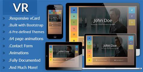 30 Best Html Virtual Business Card Templates 2016 Designmaz Vr Website Template