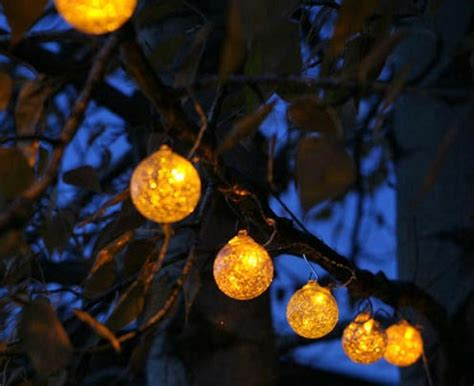 solar string lights 187 garden globe solar string lights the gardener s