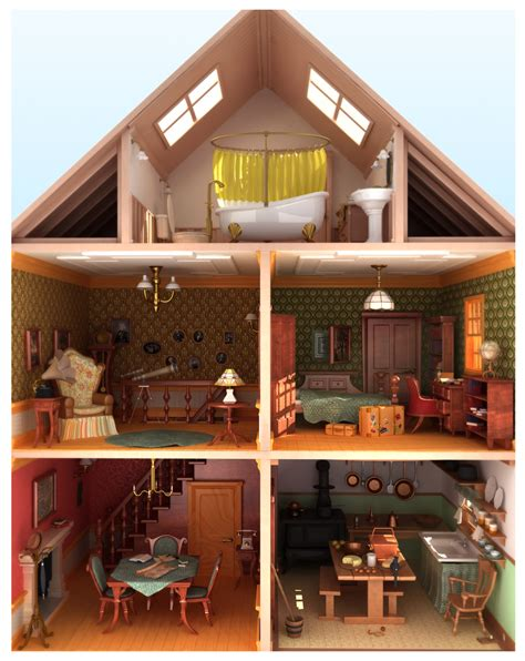 house of doll doll house by fabriciocos on deviantart