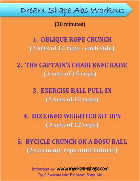 day workout plan sexy  ripped  dream shape