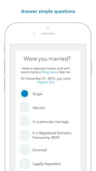 7 Best Tax Prep Apps For The Iphone by Turbotax Tax Preparation Complete And Efile Your 2014