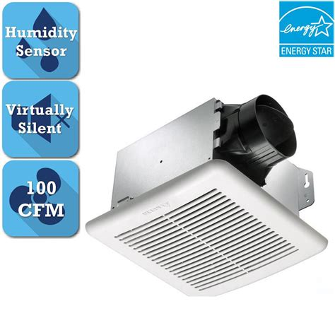 100 cfm ceiling exhaust fan with light and heater broan 100 cfm ceiling exhaust fan with light 696 the