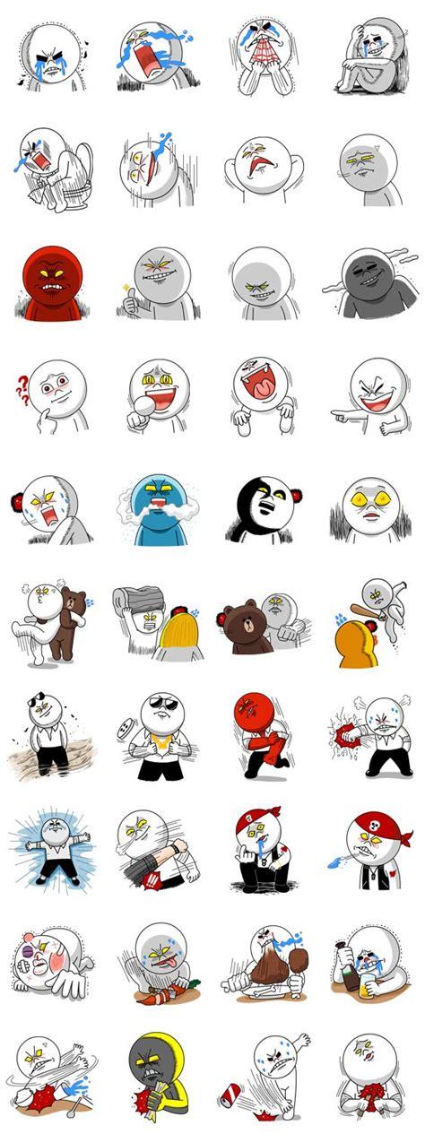 Kaos Line Line Emoticon Moon 4 m 225 s de 25 ideas incre 237 bles sobre emoticon enojado en