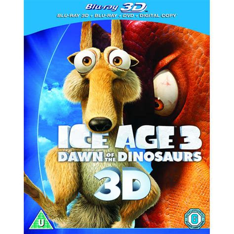 3d Copy And Draw Dinosaurs And age 3 3d 2d dvd and digital copy zavvi