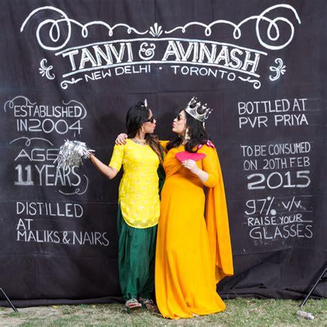 Gujarati Wedding Banner by Spunky Wedding In Delhi With An