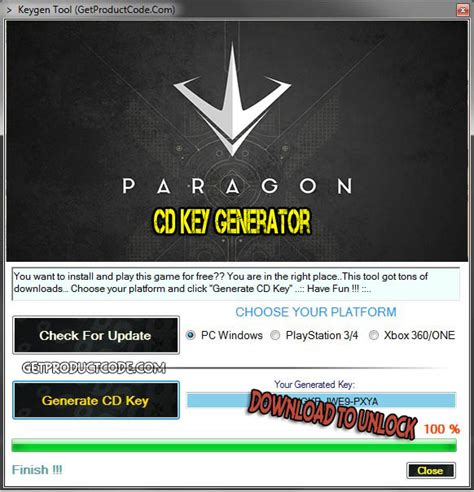Paragon Giveaway - paragon cd key generator 2016 get product code