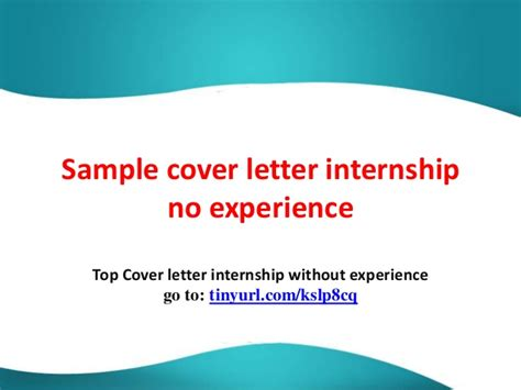 cover letter accounting internship intern cover letters examples