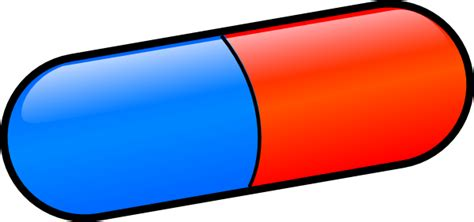 clipart medicine tablet pencil and in color